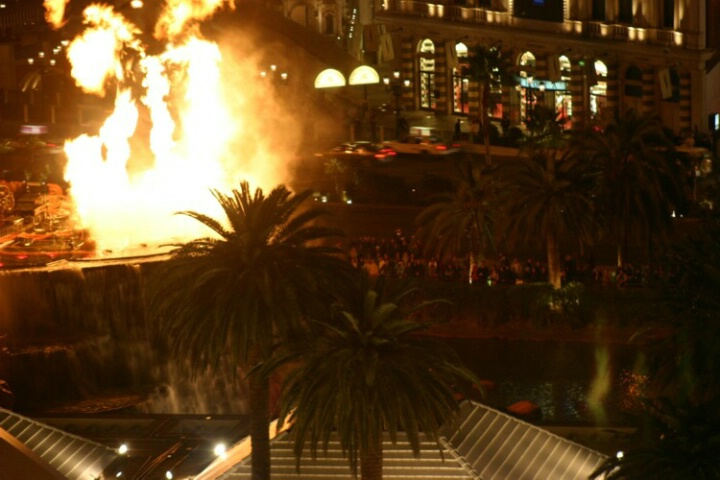 Vegas on Fire