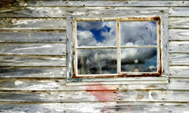 Window, Old Dairy Barn