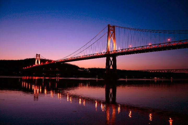 The Mid-Hudson Bridge