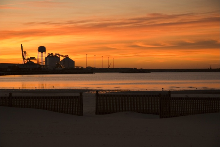 State Port at Sunrise