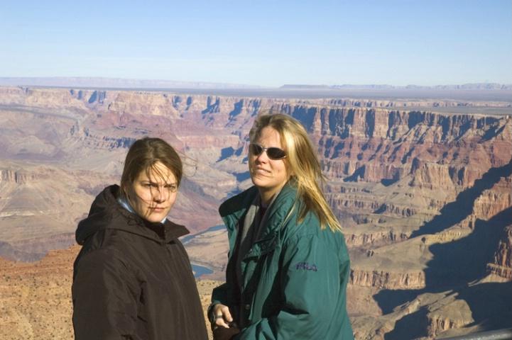 Christine and Lara