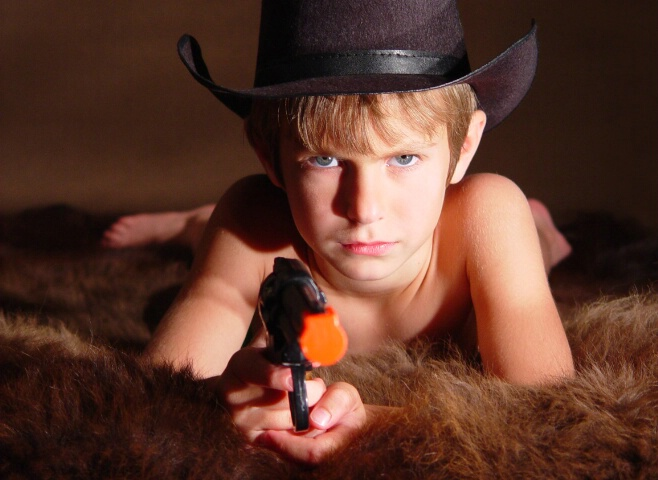 One Naughty Cowboy
