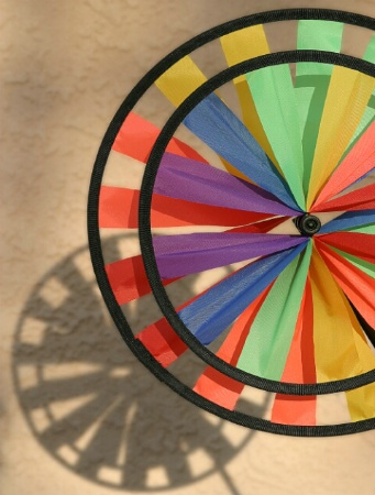 Color Wheel and shadow