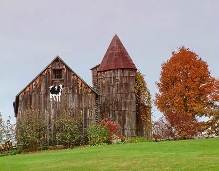 ...little barn on the hill....