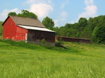 Ohio Red Barn