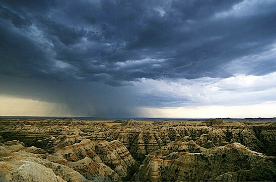 stormover Badlands - ID: 502420 © Brian d. Reed