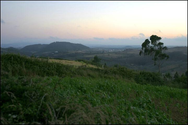 After sunset in Malveira
