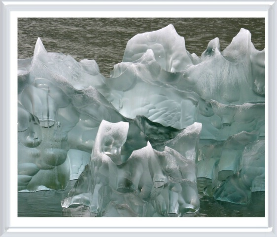 Natural Ice Sculpture