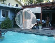 David in a bubble