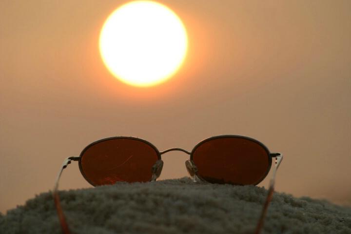 Blazing Florida Sun