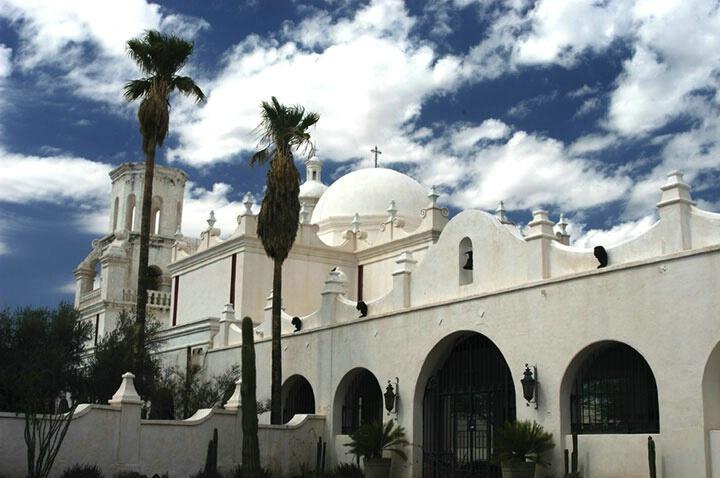 San Xavier Mission Tuscon AZ