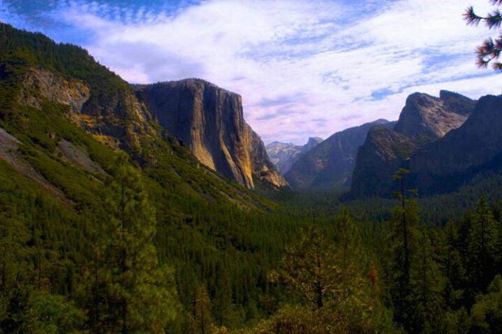 Inspiration Point Yosemite
