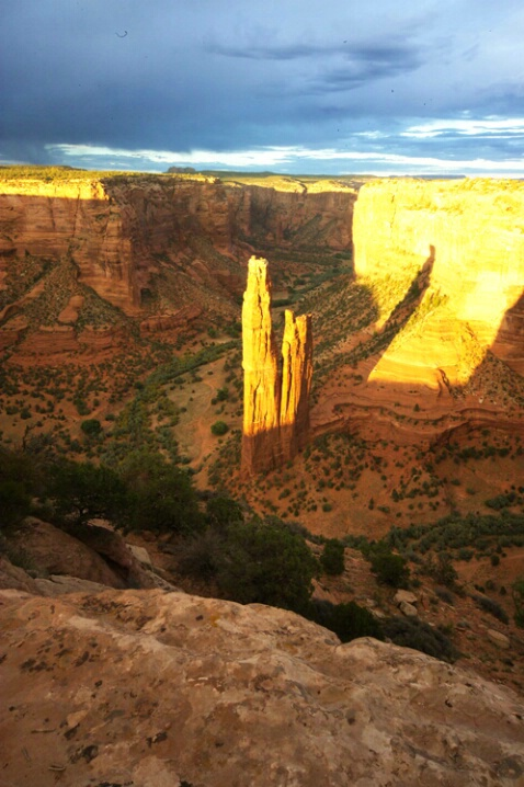 Spider Rock Sunset #2 - Canyon de Chelly - ID: 540331 © Jacqueline Stoken