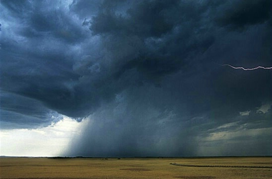 Storm Over Badlands 2 - ID: 542215 © Brian d. Reed