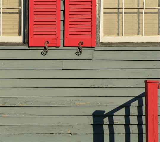 Late Afternoon Shutters
