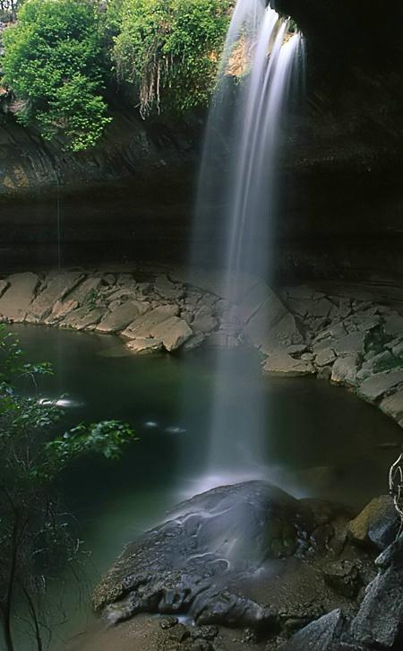...hidden waterfall...