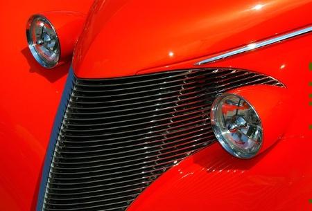 Custom Car Designs in Orange