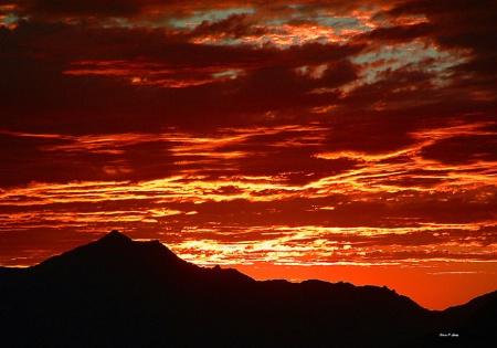 Amazing Arizona Sunset