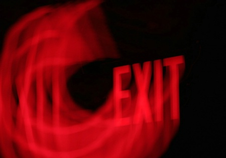 ~Exit . . . Stage Left~
