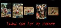 Thank God For My Helmet