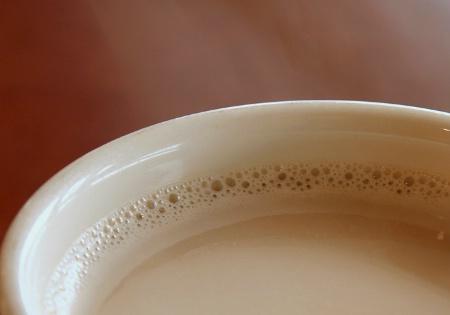 Ahhhh, Hot Spiced Chai Latte