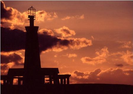 Beacon Light Silhouette