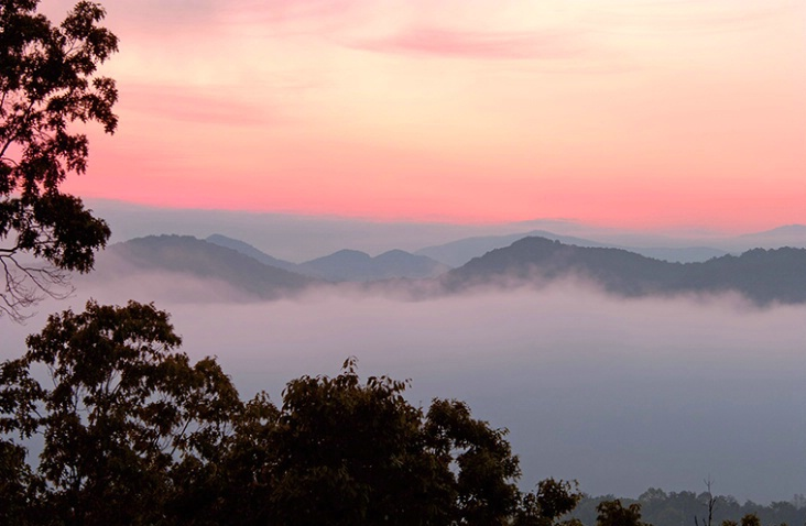 Dawn at Foothills Parkway, Tennessee - ID: 936897 © Carolina K. Smith