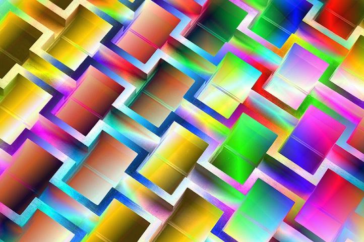 Diagonal Abstract Fantasy