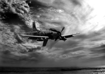 Skyraider Over the Pacific