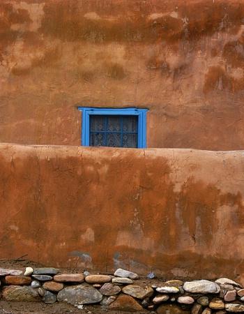 Blue Santa Fe Window