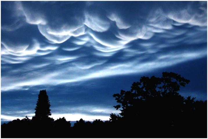 Moonlit Stormclouds