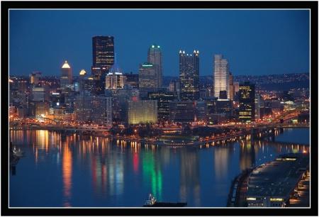 Pittsburgh, PA @ Night