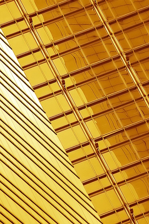 Diagonal Golden Lines and Reflections