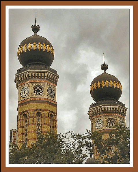 Great Synagogue Minarets - ID: 999945 © Sharon  Crook