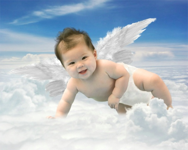Ready To Fly Angel Baby