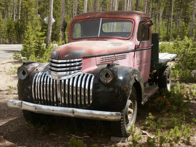 Truck in Oregon - ID: 1024318 © Daryl R. Lucarelli