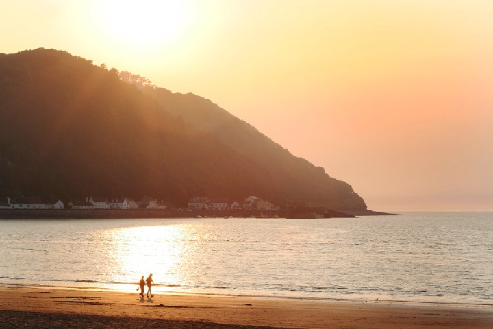 Minehead at Sunset