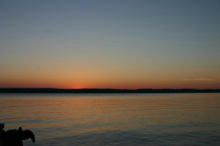 Nightfall on Lake Metonga