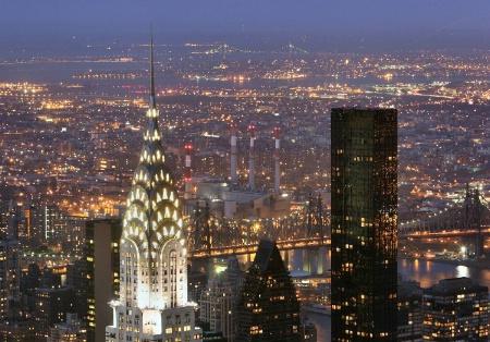Bright lights, big city !