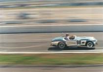 Classic Car on Track