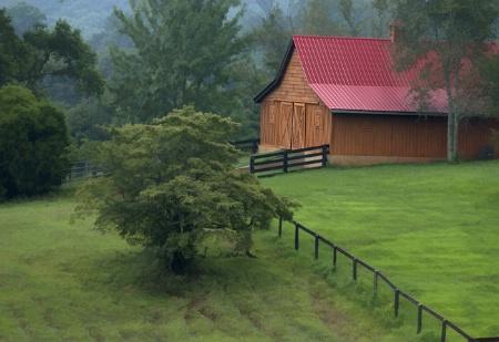 Beautiful New North Georgia Barn
