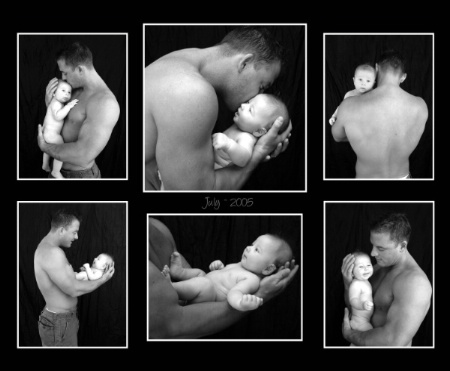A Fathers Collage