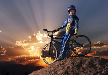 BMX Sunset