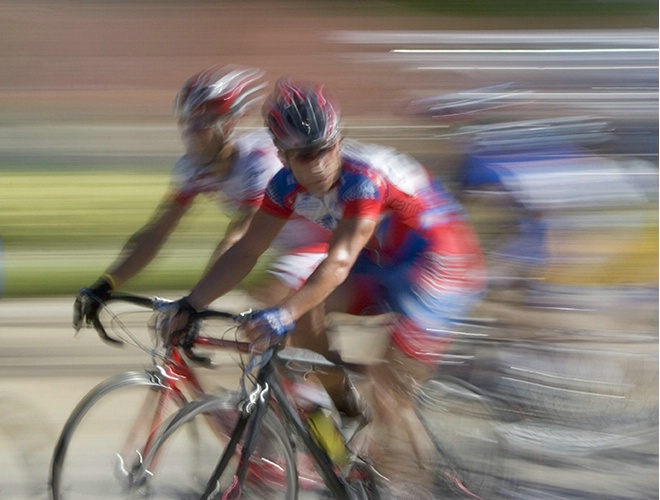 Bike Race Abstract
