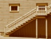 Old staircase in ...