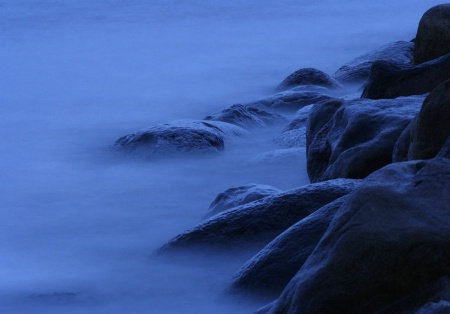 At the blue hour..