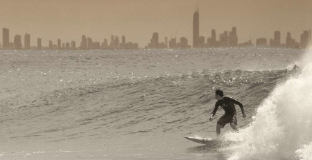 Surfing Surfers Paradise
