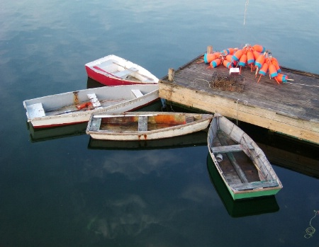 Rowboats and Buoys