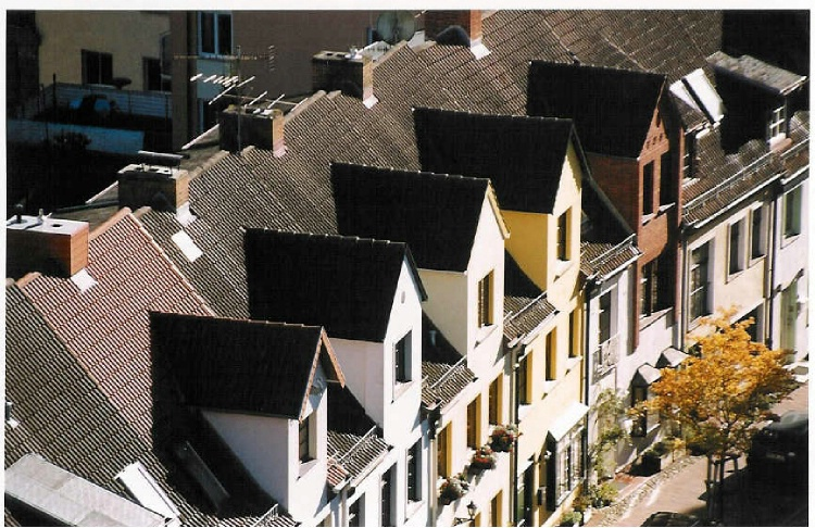 Roof tops of Mechlenburg