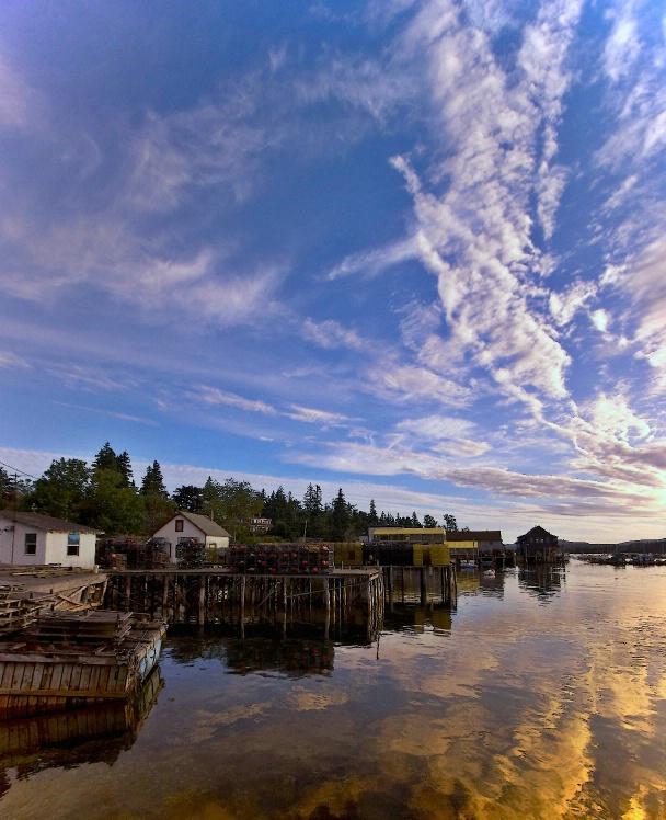 Morning Colors at Bernard, Maine